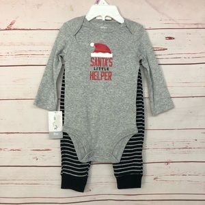 Santa's Helper 2 piece outfit